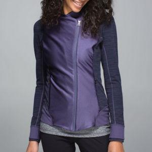 Lululemon Emerge Renewed Jacket Purple 10